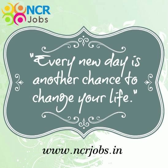 Have A Great #Monday !! and a great #week ahead.   www.ncrjobs.in