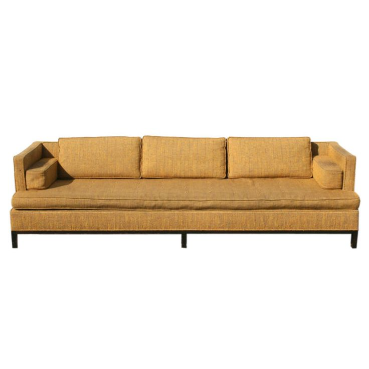harvey probber midcentury sofa