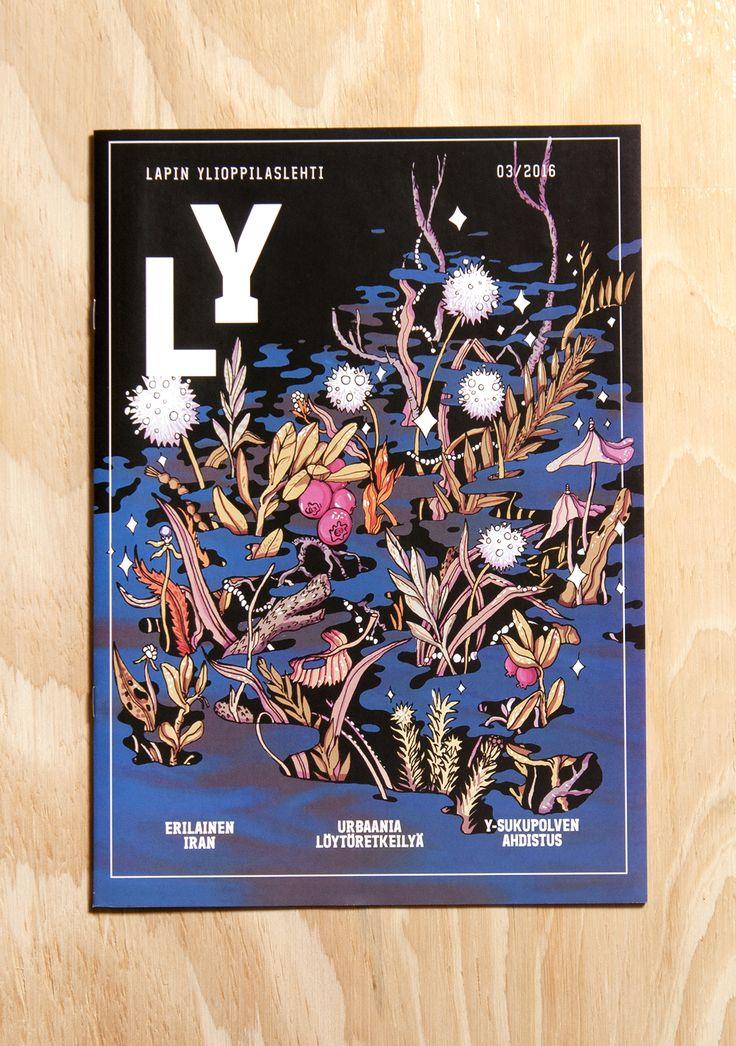 Lapin Ylioppilaslehti 03/2016 cover illustration by Mikko Roininen