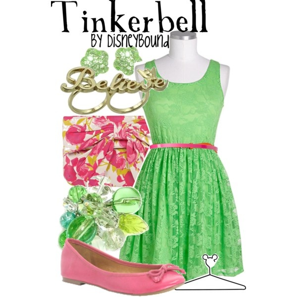 Tinkerbell, created by lalakay on Polyvore #disney