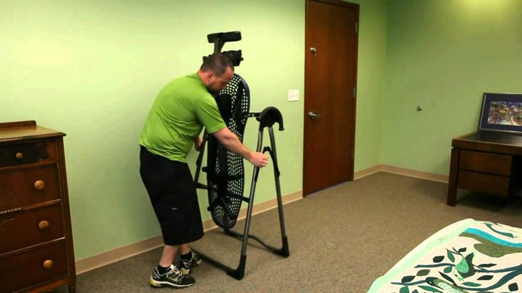 How to Store Your Teeter Hang Ups Inversion Table