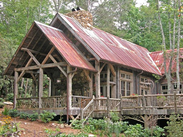 Rustic Home Designs | Log Home Designs | Timber Framed Homes