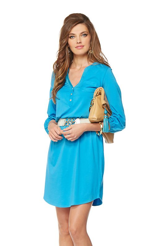 Beckett Shirt Dress, I like this in all 3 colors!