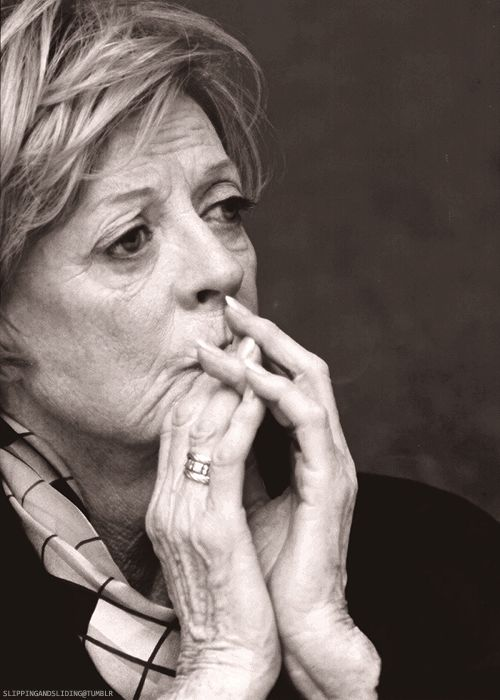 Dame Maggie Smith-While filming Harry Potter she had cancer but carried on anyay