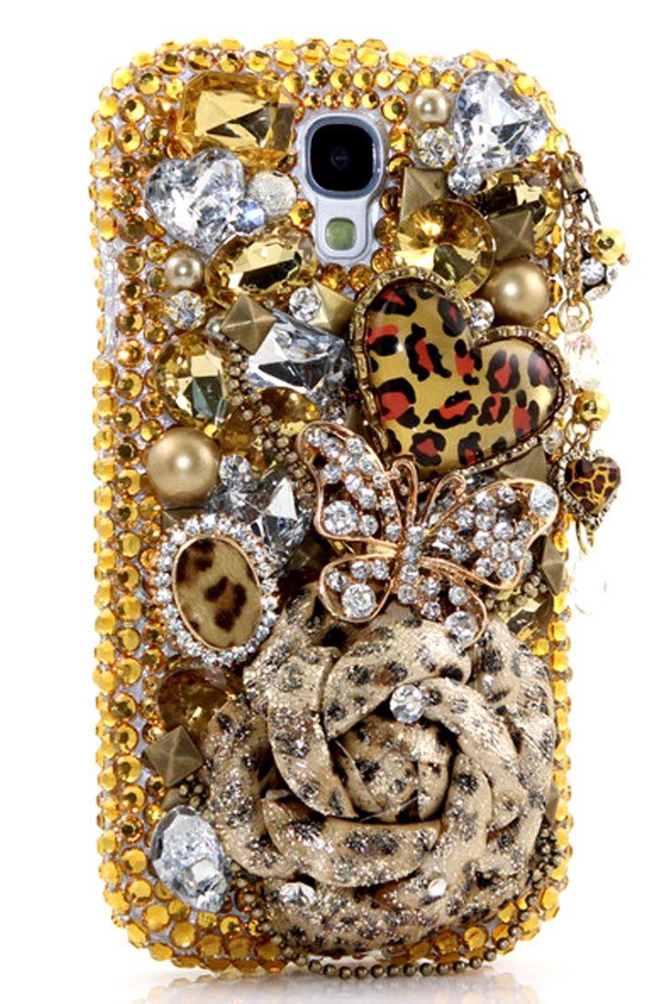 Cute Wallpaper Phone Case Girly Leopard Lovers Design Samsung Galaxy S4 Phone Case