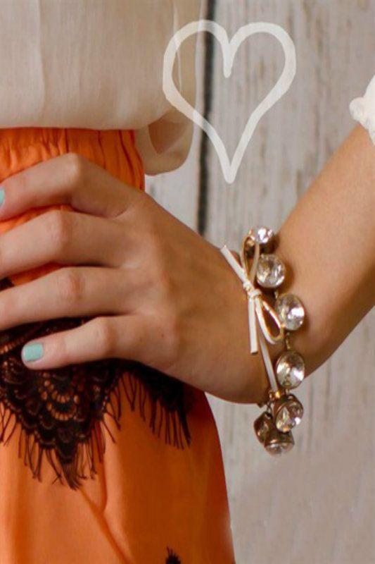 Kelly Brett Boutique - Brilliant Bow Bracelet White, $12.00 (https://www.kellybrettboutique.com/brilliant-bow-bracelet-white/)