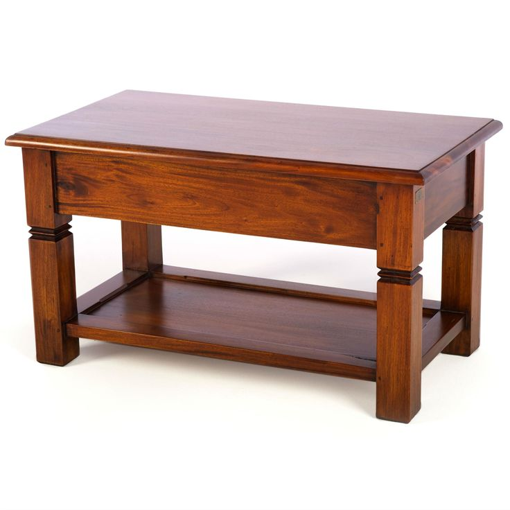 Mahogany Village Small Coffee Table from Queenstreet Carpets & Furnishings