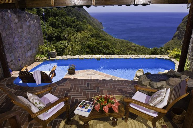 Ladera Resort, St. Lucia...yes please.