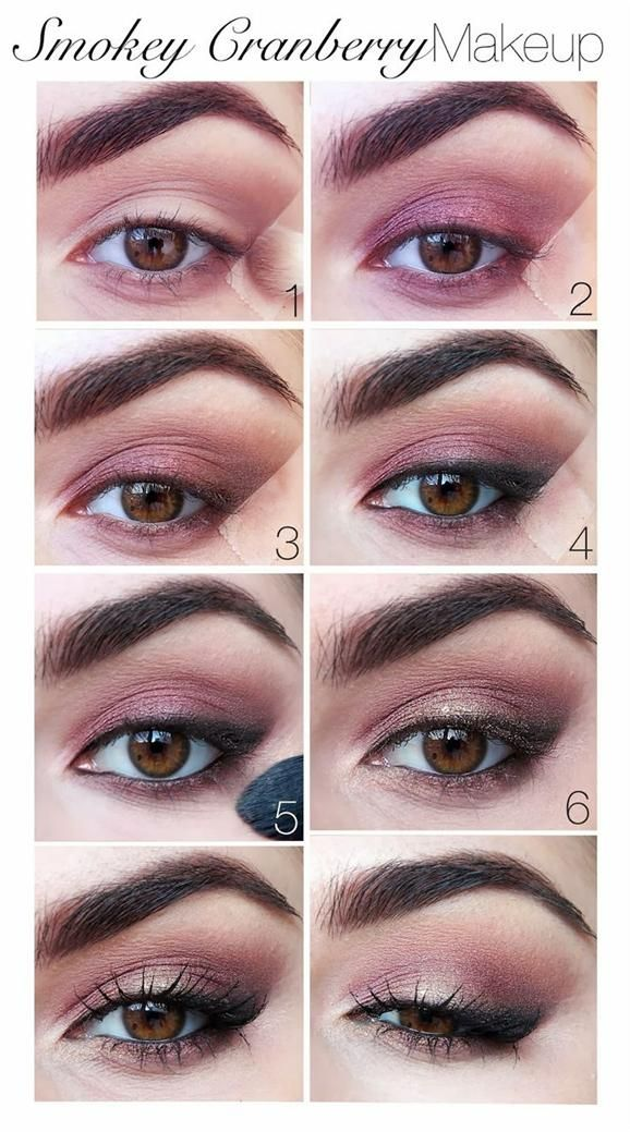 Genius using tape to get the perfect angle and line!!! Def gonna try that! Smoky eyeshadow tutorial- Head over to Pampadour.com