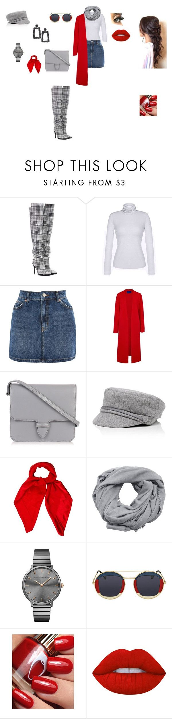 """chic outfit"" by helena94-1 on Polyvore featuring Off-White, Topshop, Winser London, Alaïa, Eugenia Kim, Louis Vuitton, MANGO, Rebecca Minkoff, Gucci and Sachin + Babi"