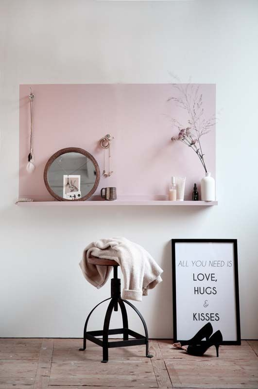 Coiffeuse DIY : small living sur www.decocrush.fr | @decocrush
