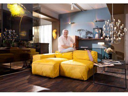 Die besten 25+ Gelbe ledersofas Ideen auf Pinterest gelbe l - capri suite moderne einrichtung