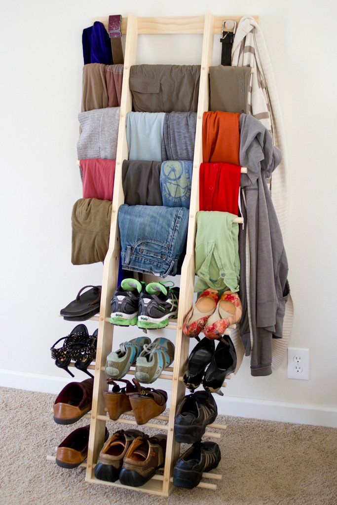 Zipladder Wall. Closet StorageClutter