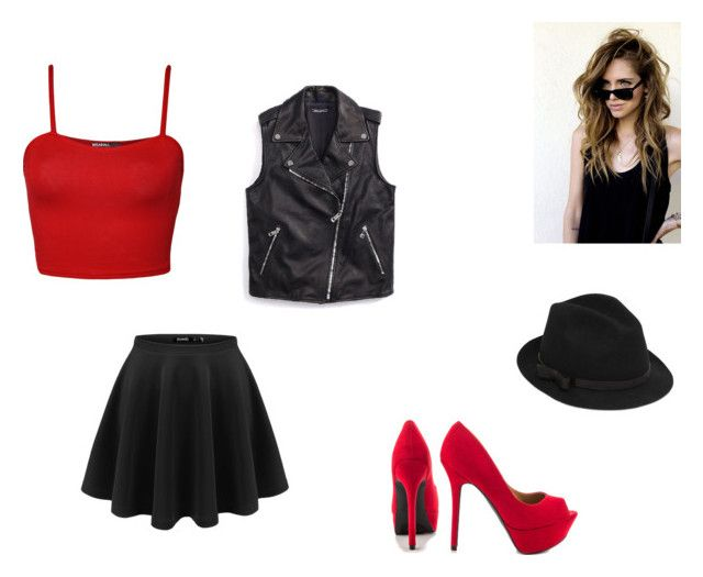 """""""bad girl"""" by love-ferri ❤ liked on Polyvore"""