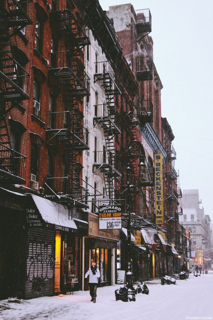 Orchard Street, New York City