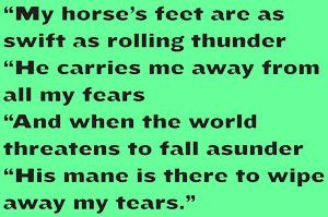What does your #quarterhorse do for you? #horselove #AQHAProud. Do you want more #horsequotes? Become an AQHA member to receive #AmericasHorse magazine, which includes #sageremarks like this one in every issue! http://aqha.com/join