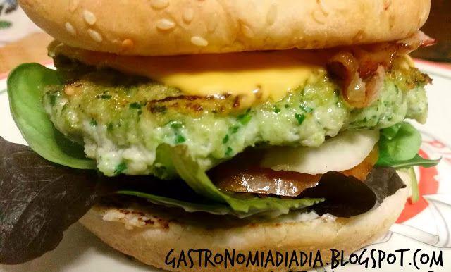 Gastronomía día a día: Hamburguesas caseras de pollo y espinacas