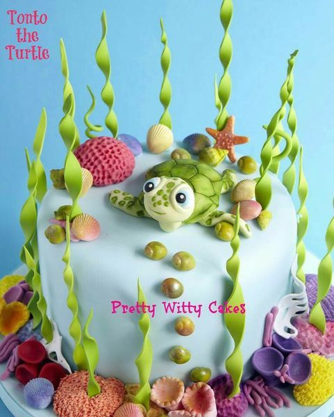 What could be a more perfect jumping off point for cake decorating than water? Water-themed elements really allow you to be creative, you can do realistic interpretations, abstract, ombre, cute for...