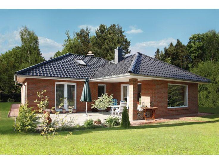 Bungalow 3 105 w einfamilienhaus von elbe haus for Haus modern walmdach