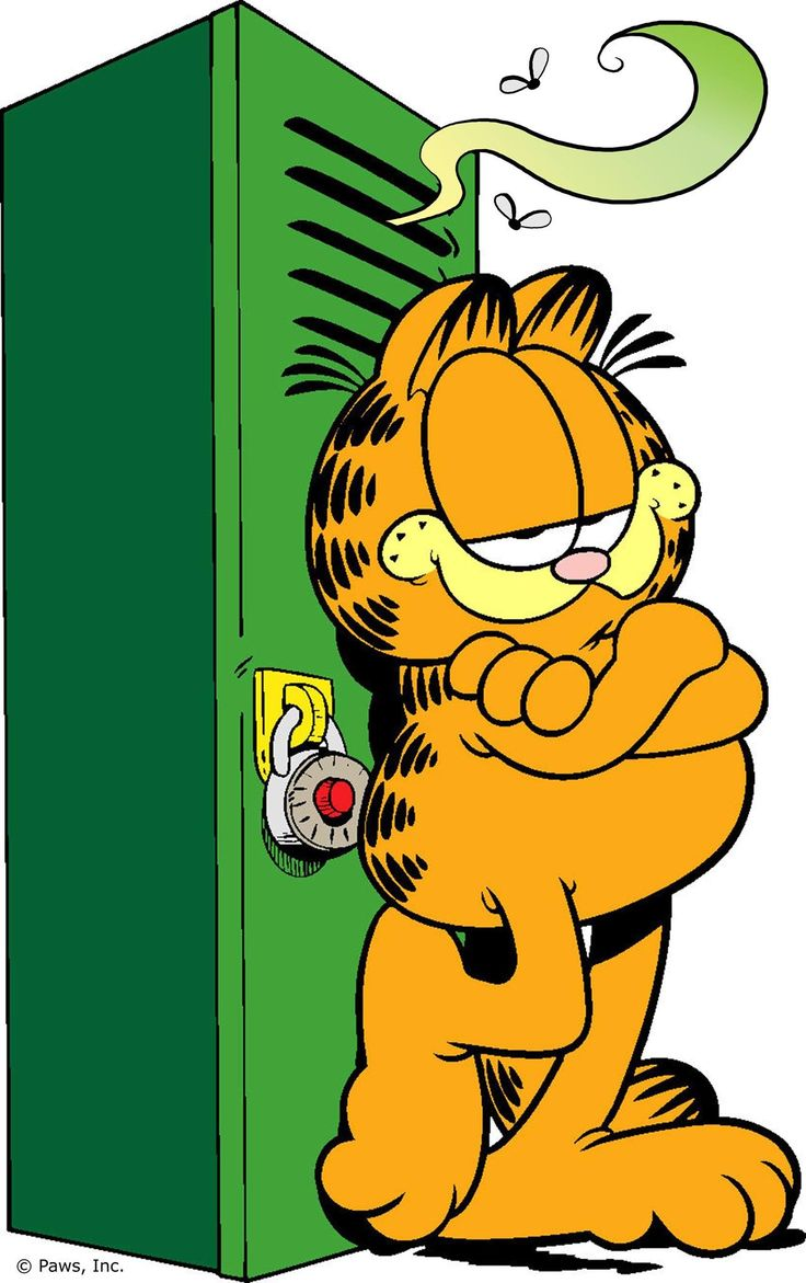 Back to previous page home garfield holiday celebrations - Garfield S Back To School Tip 78 Never Store Cheese In Your Locker