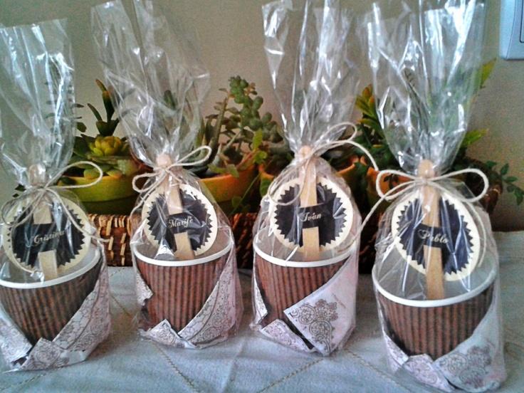 Choco-kit express. Para tomar un chocolate caliente, un regalito perfecto para un fin de semana invernal.