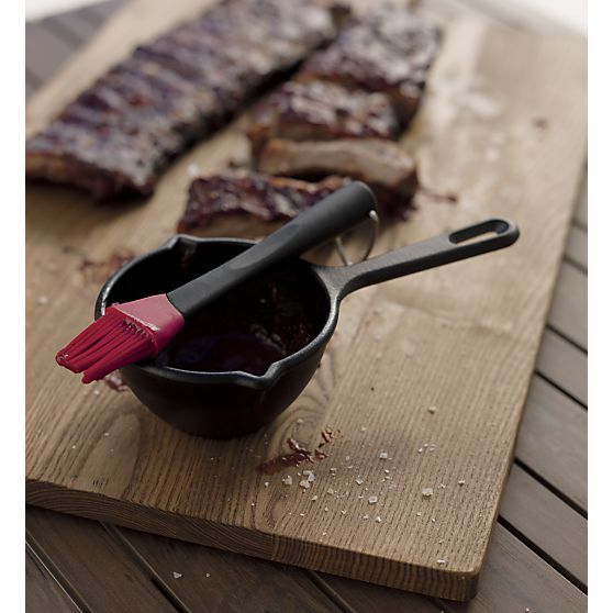 Lodge® Cast Iron Melting Pot in Barbecue | Crate and Barrel