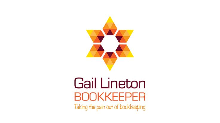A bookkeeper who likes sunflowers, the graphic logo was born!