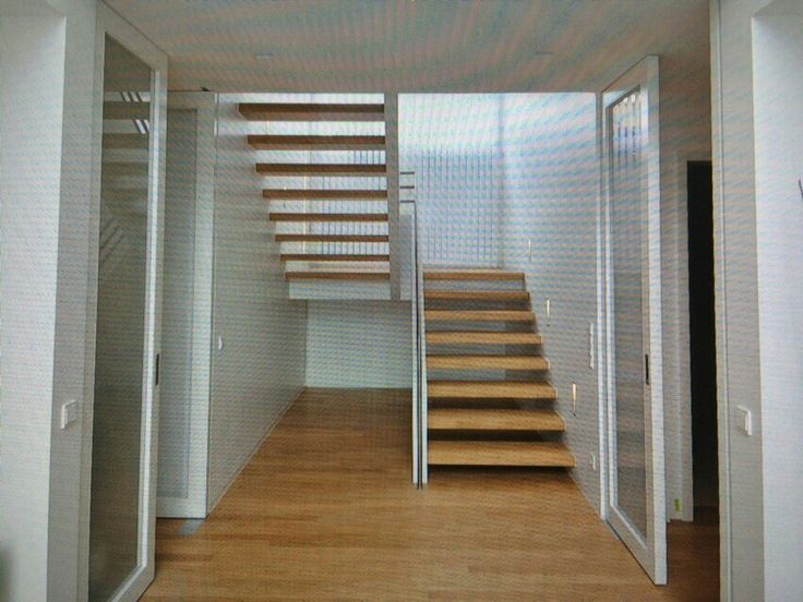 Treppe mit Podest