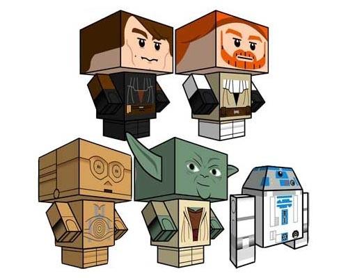 Art LEGO Star Wars Paper Crafts for-kids