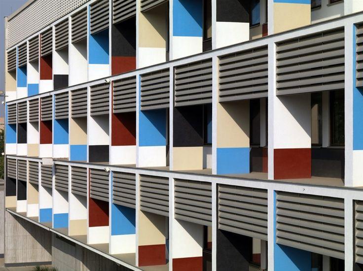 Le Corbusier (?) in Neu-Dehli – Foto: Philipp Meuser, Berlin