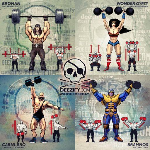 Epic Workout Monster Highlights: 225 Best Deezify Monster Workout Images On Pinterest
