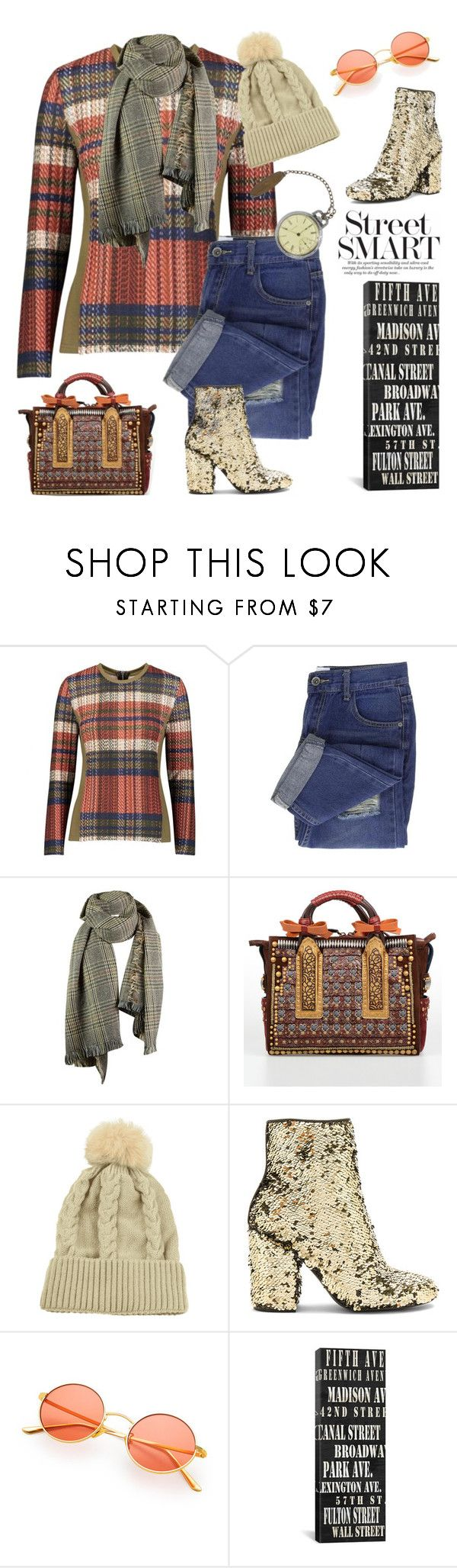 """""""""""Walking Where Some Of The Streets (& Avenues) Have No Names"""" But All Have Great Shopping"""" by sharee64 ❤ liked on Polyvore featuring YAL New York, Dsquared2 and Steve Madden"""