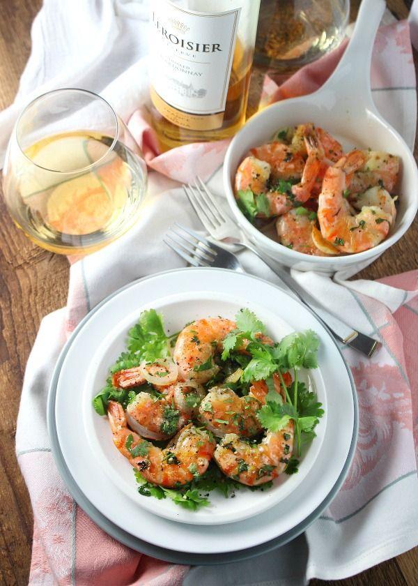 Quick 4 Peppercorn Roasted Shrimp | Simply Fresh Dinners