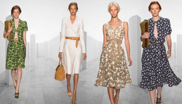 Неделя моды в Нью-Йорке: Michael Kors, весна-лето 2014