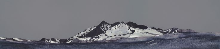 Ron Lawson, The Black Cuillins, Skye. Signed Limited Edition print | Scottish Contemporary Art