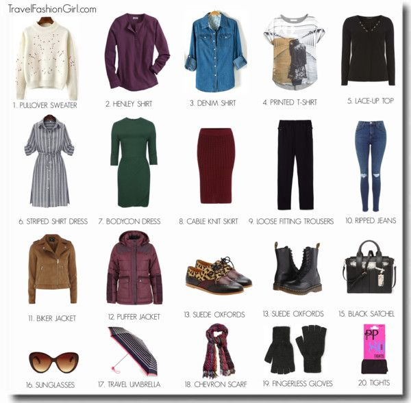 Travel Outfits For Europe Autumn