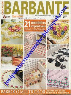 Josi Artesanatos: Revista Crochê Em Barbante Nº 6 (Editora Online)