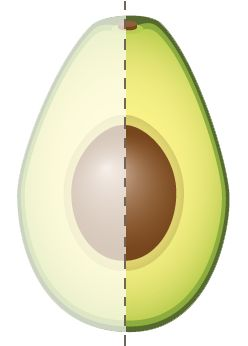 Based on a 2,000 calorie diet the FDA's general guide to calories is:      40 Calories is low     100 Calories is moderate     400 Calories or more is high  One-fifth of a medium avocado (1 oz.) has 50 calories and contributes nearly 20 vitamins and minerals making it a good nutrient choice.