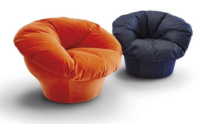 Twelve Is An Armchair Designed By Uto Balmoral For D3CO. A Big Round Pillow  Rests