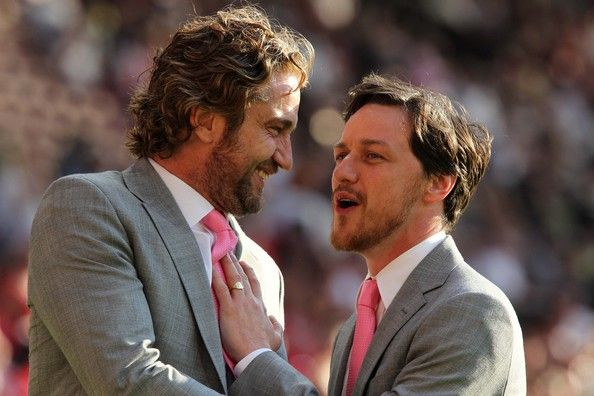 James McAvoy Photo - Soccer Aid 2012 Stars Arrive On Pitch