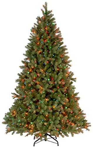 6.5 FT Feel Real Douglas Fir Christmas Tree with 650 Multicolored Lights - http://www.christmasshack.com/christmas-trees/6-5-ft-feel-real-douglas-fir-christmas-tree-with-650-multicolored-lights/ 6.5 FT Feel Real Douglas Fir Christmas Tree with 650 Multicolored Lights. This Downswept Douglas tree has feel real branch tip technology, creating a tree with an astounding realism.