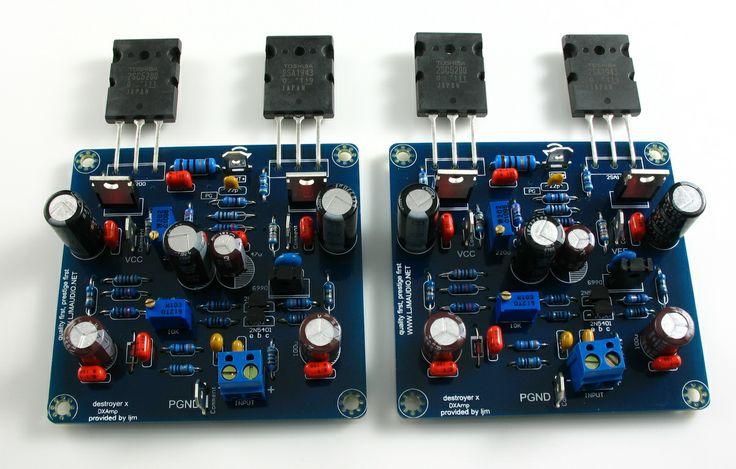 Toshiba A1943 C5200 DX Amp Power Amplifier Kit 2 CH | eBay