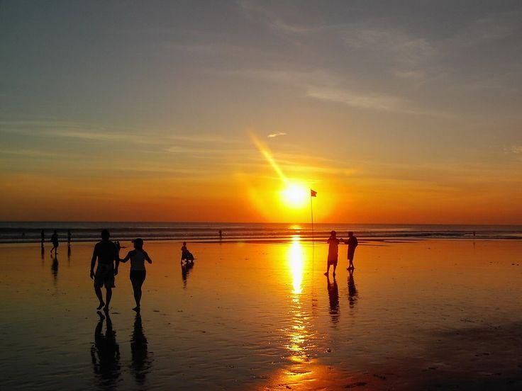 Legian Beach Sunset