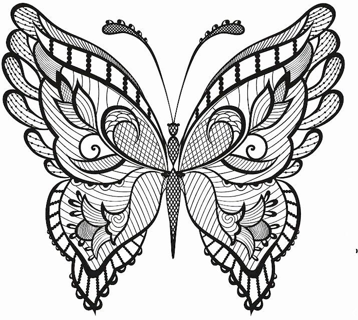 Intricate Animal Coloring Pages Beautiful Intricate Butterfly Pages Designs Coloring Pages Butterfly Coloring Page Butterfly Tattoo Butterfly Mandala