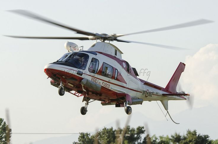 Agusta Westland 109E Drago 82 Vigili del Fuoco