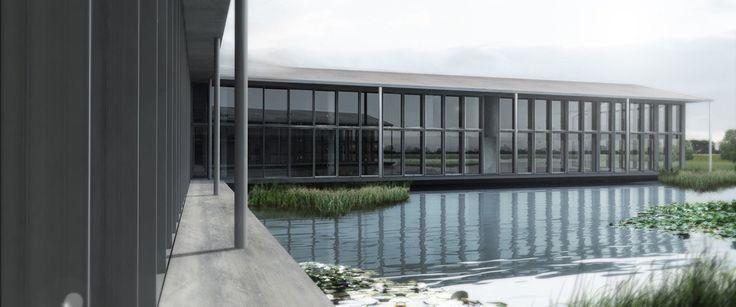 roncade office complex by zanon architetti associati #office #rendering