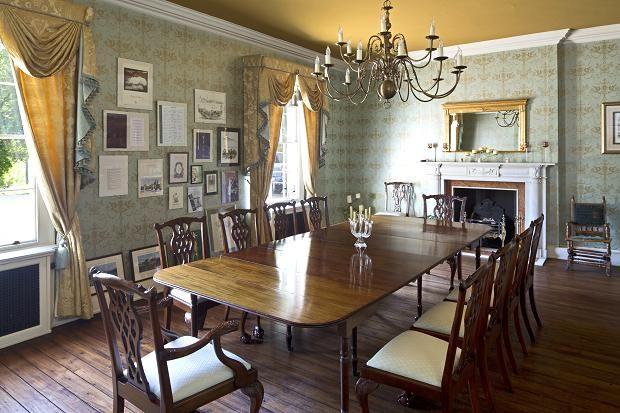Contemporary edwardian dining room edwardian style for Edwardian dining room ideas