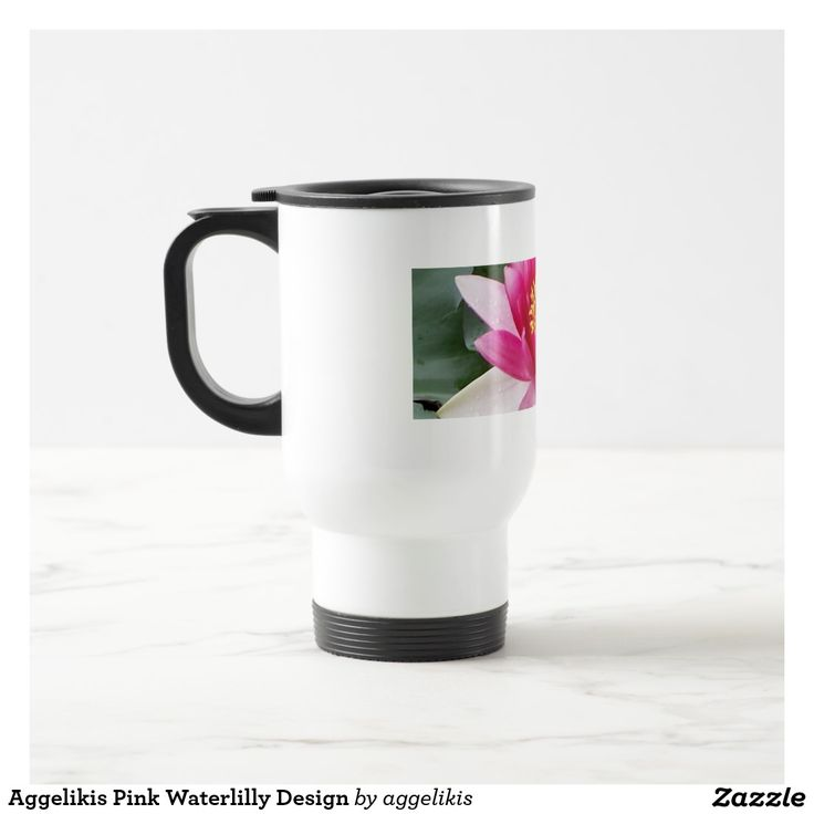Aggelikis Pink Waterlilly Design