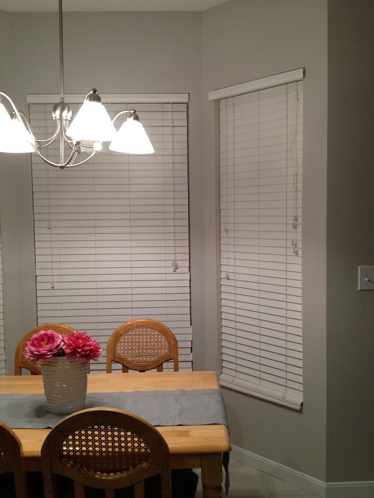 The Perfect Light Grey Behr Cotton Grey Dining Kitchen Pinterest
