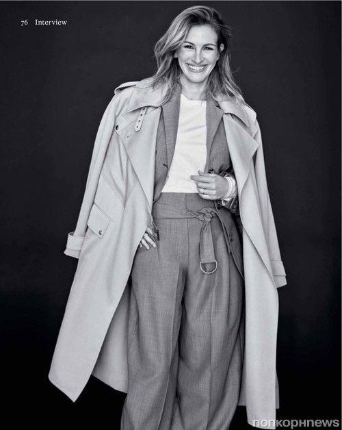 Джулия Робертс снялась для обложки майского Marie Claire France